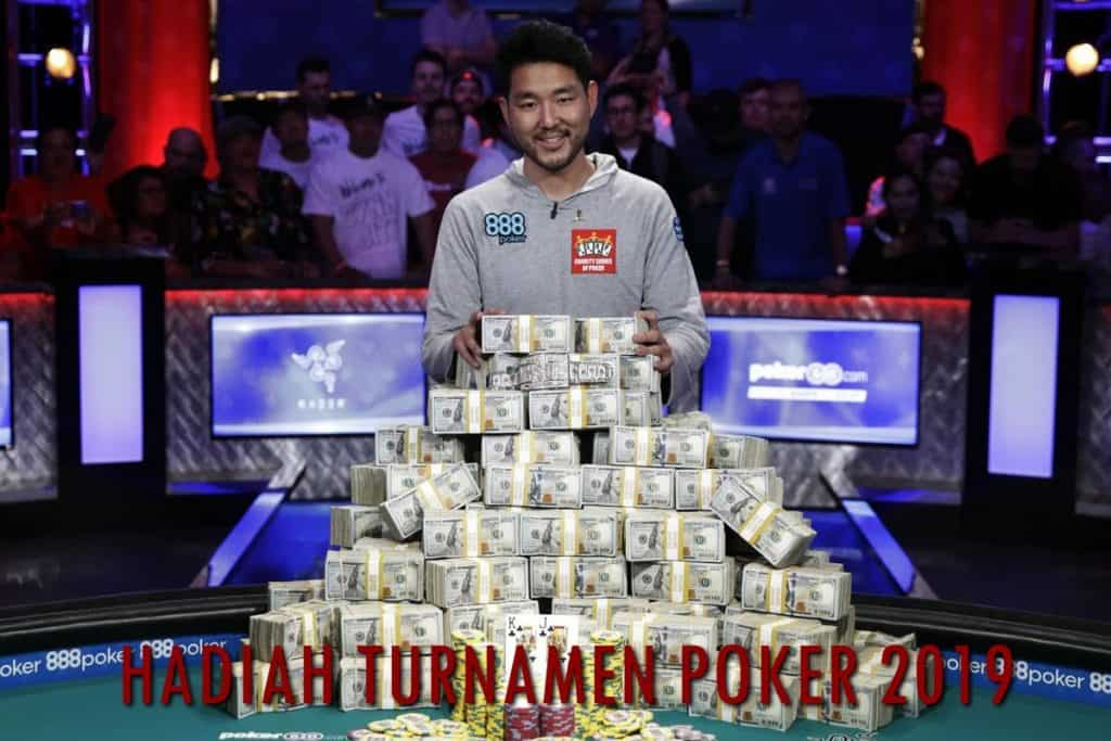 hadiah turnamen poker uang asli 2019